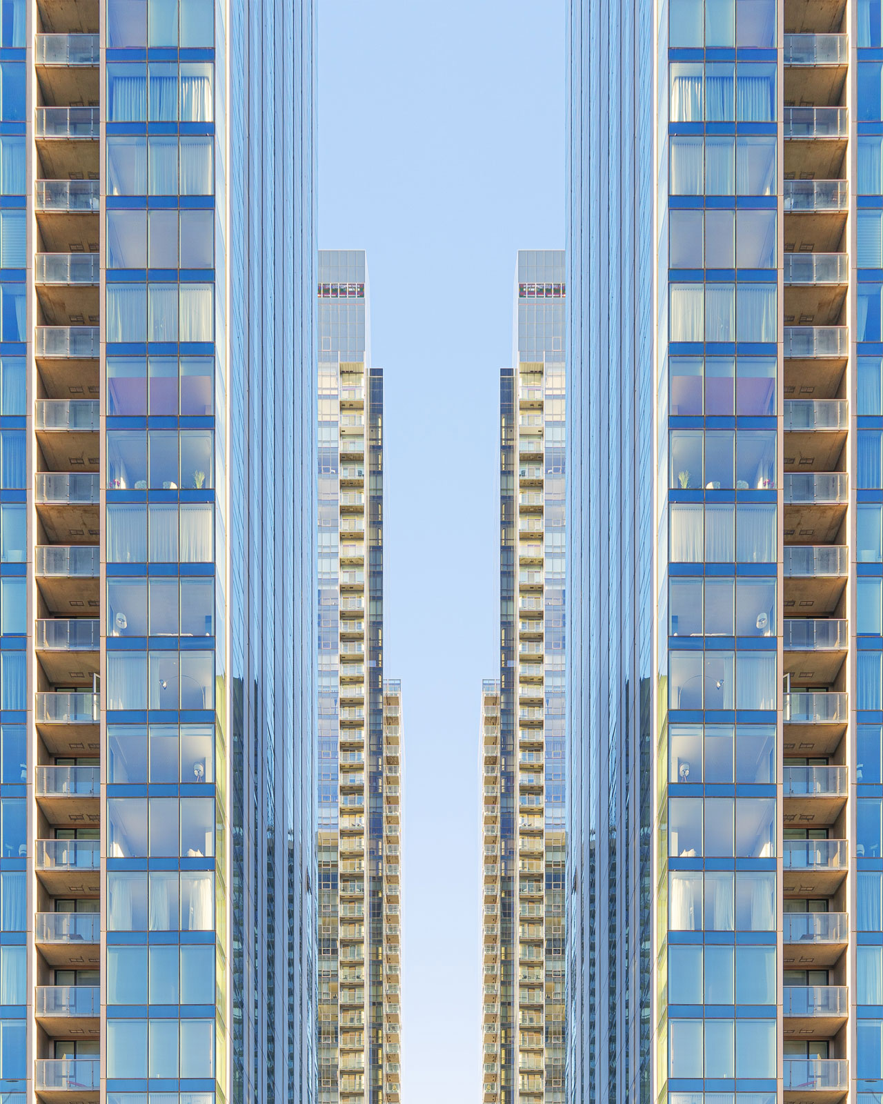 highrise 3d building rendering