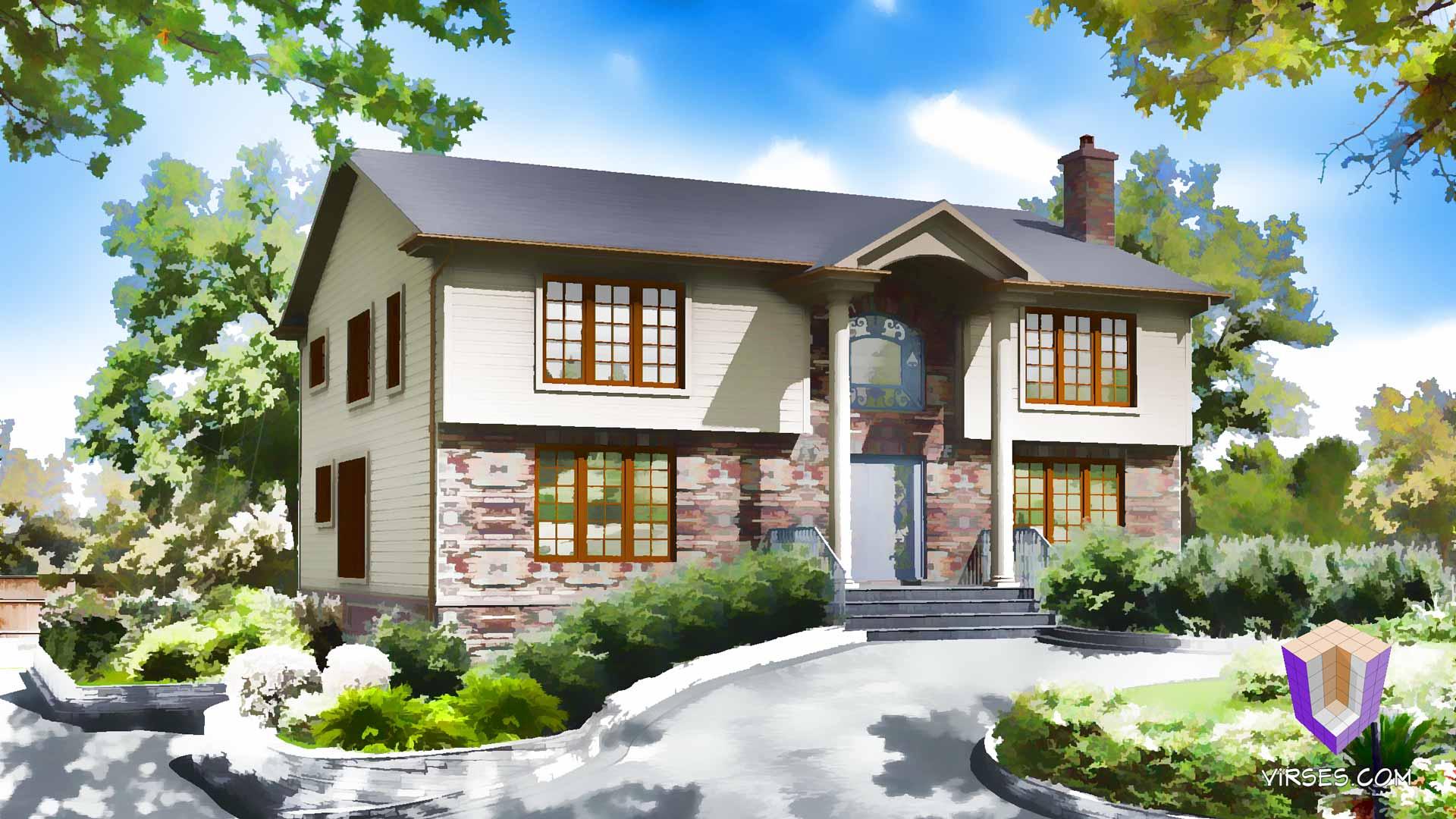 3d house visualizations