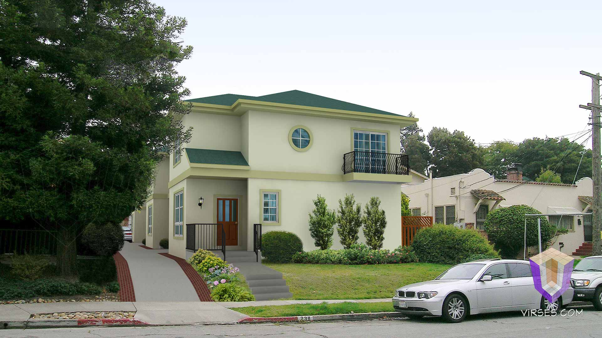 3d house, apartment and condo renderings