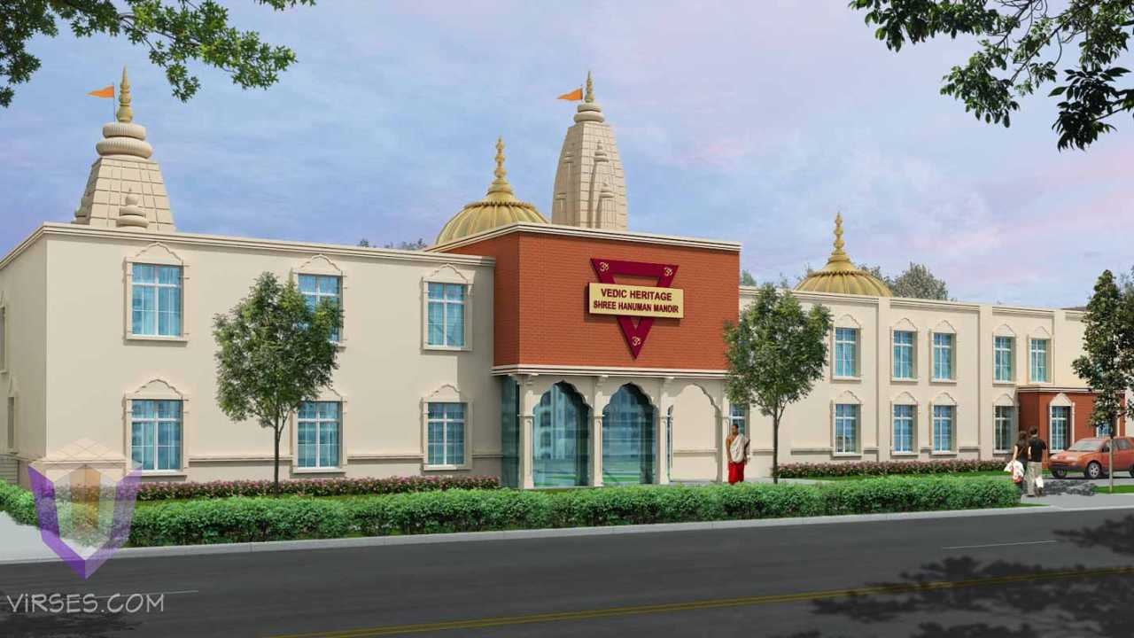 Temple in New York | architectural animation outsource india