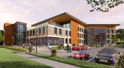 Club Center | Architectural Rendering