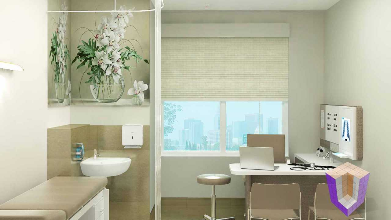 Consultant Room | 3D Architectural Rendering