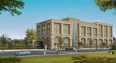 3D Rendering for Hospital Project in North India | 3D View
