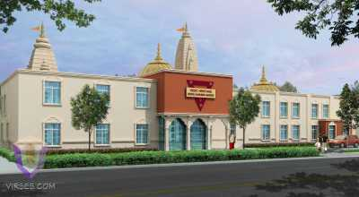 Temple in New York | Architectural Rendering