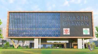 Corporate office in Bihar | Architectural Visualization
